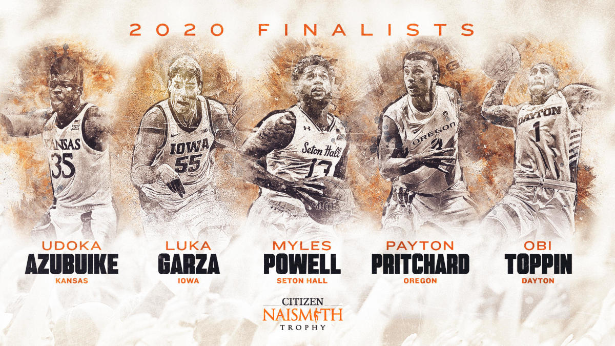 Naismith Player of The Year Award winners to be announced Friday on CBS Sports HQ