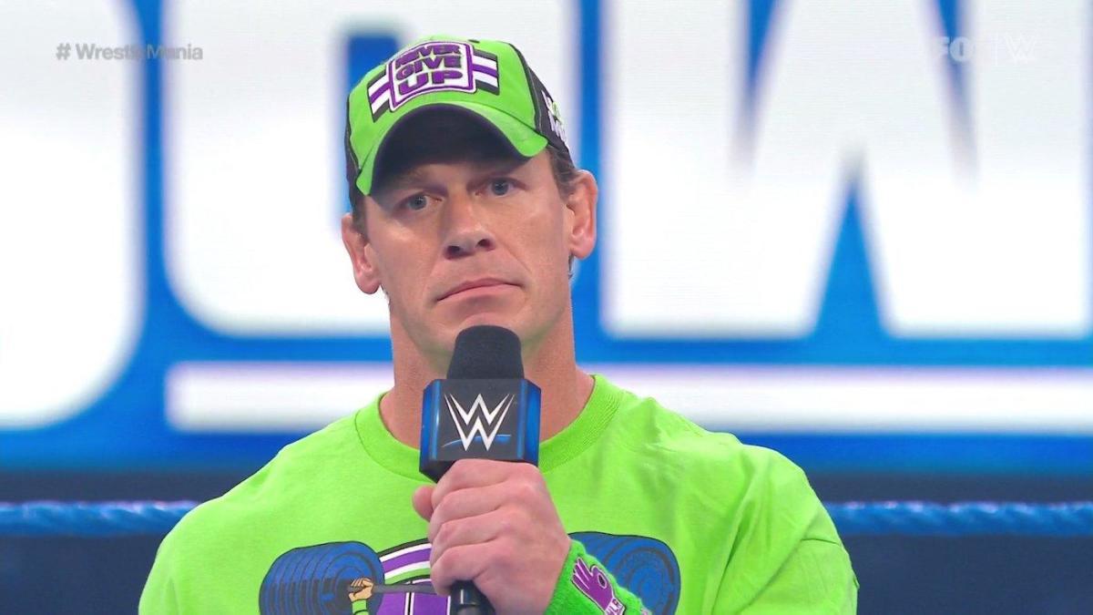 WWE SmackDown results, recap, grades: John Cena accepts challenge, major WrestleMania 36 change confirmed