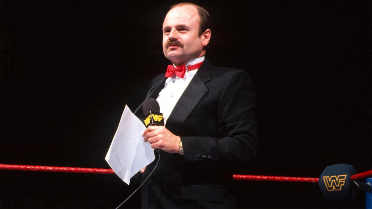 WWE Hall of Fame ring announcer Howard Finkel dies at 69 after legendary  career - CBSSports.com