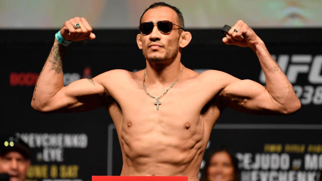 Watch Ufc Fighter Tony Ferguson Still Makes Weight For Canceled Interim Title Bout Cbssports Com