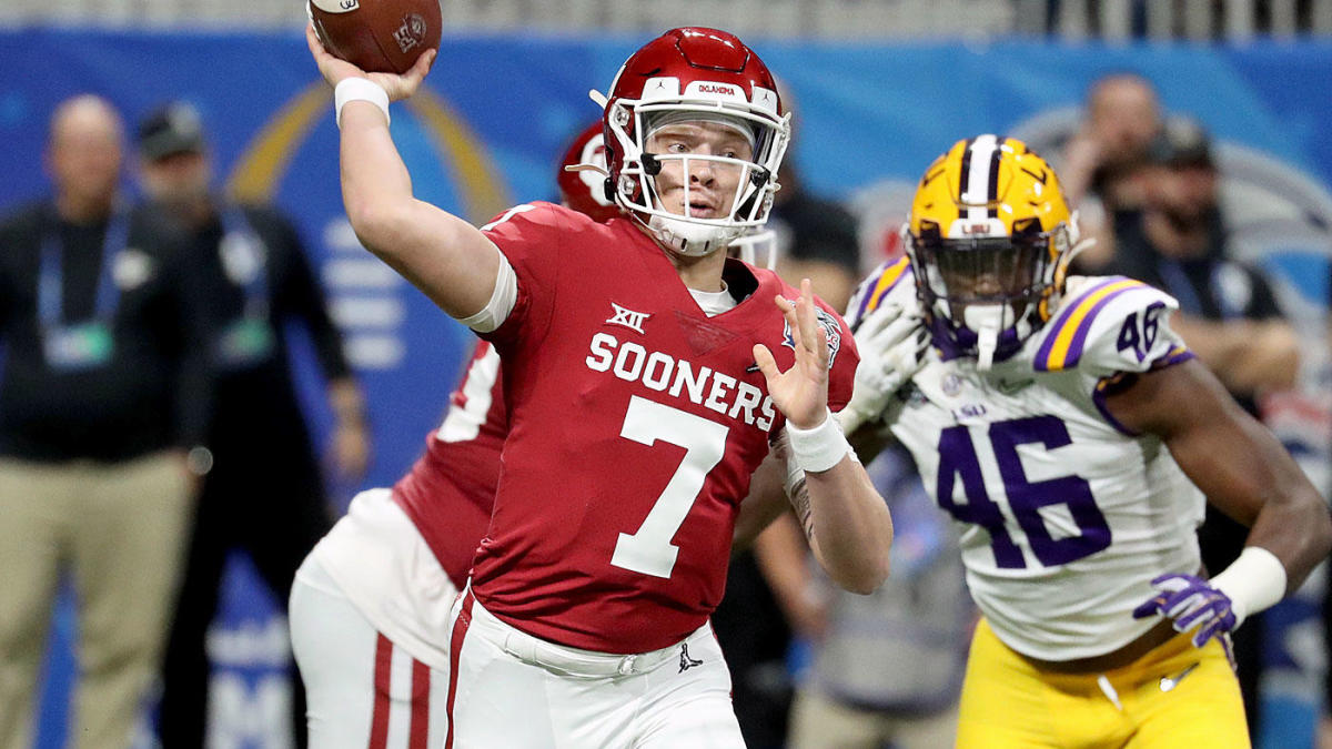 Oklahoma Names Spencer Rattler Starting Quarterback Entering College Football Season CBSSports com