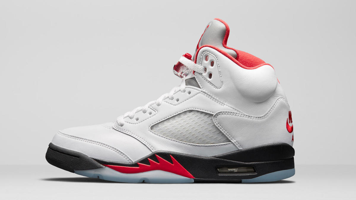 Air Jordan 5 'Fire Red' sells out