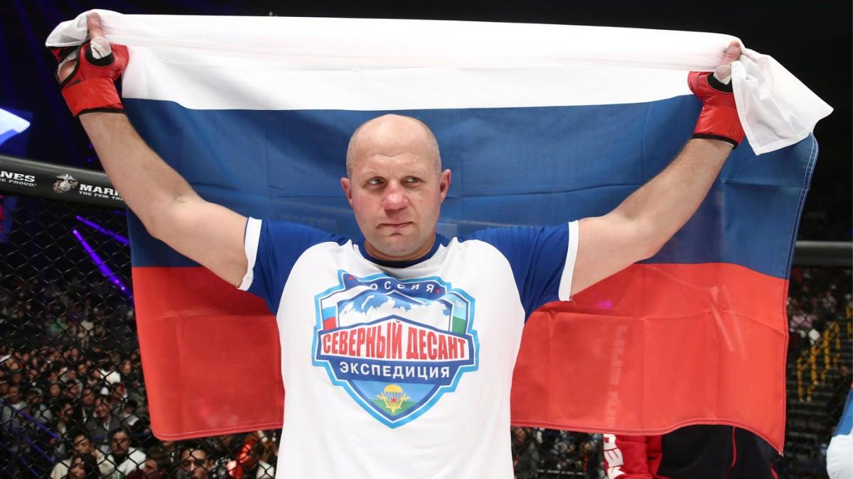 Ten Greatest Heavyweight Fighters In Mma History Fedor Emelianenko Tops The All Time List Cbssports Com