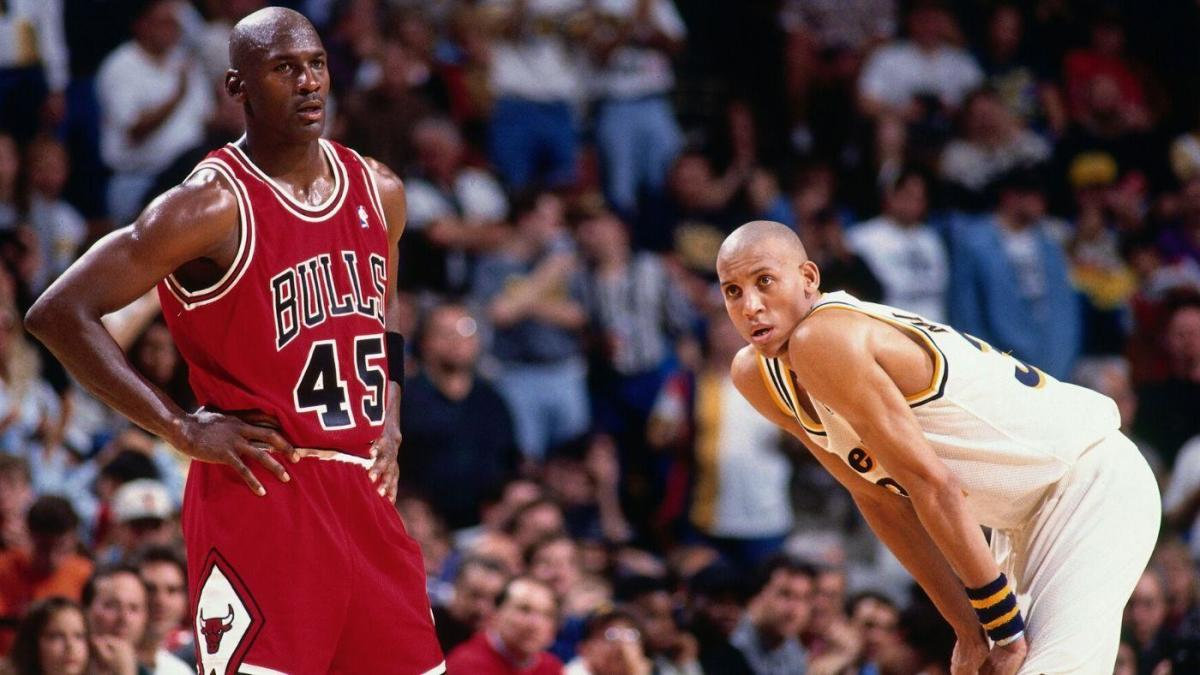 Why Michael Jordan switched from number