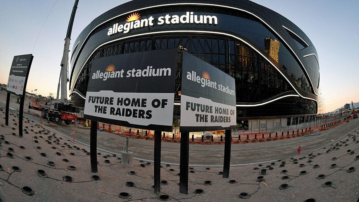Photos reveal what inside of Las Vegas Raiders' new Allegiant Stadium looks like