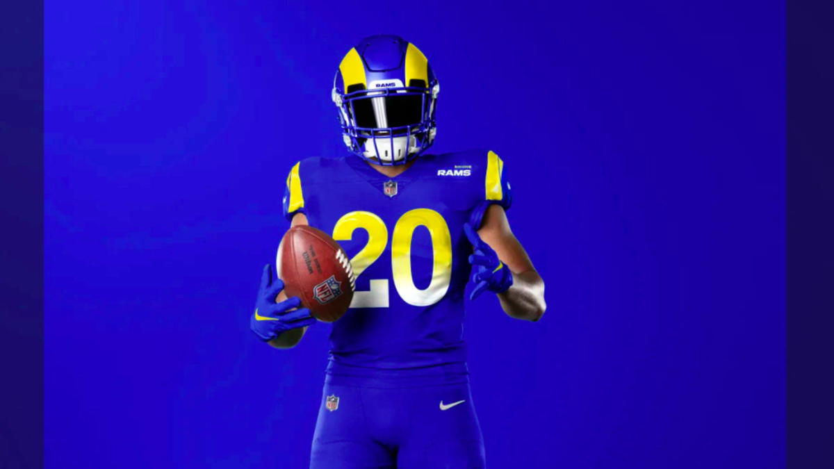Twitter Reacts To Los Angeles Rams New Uniforms And Helmet Cbssports Com