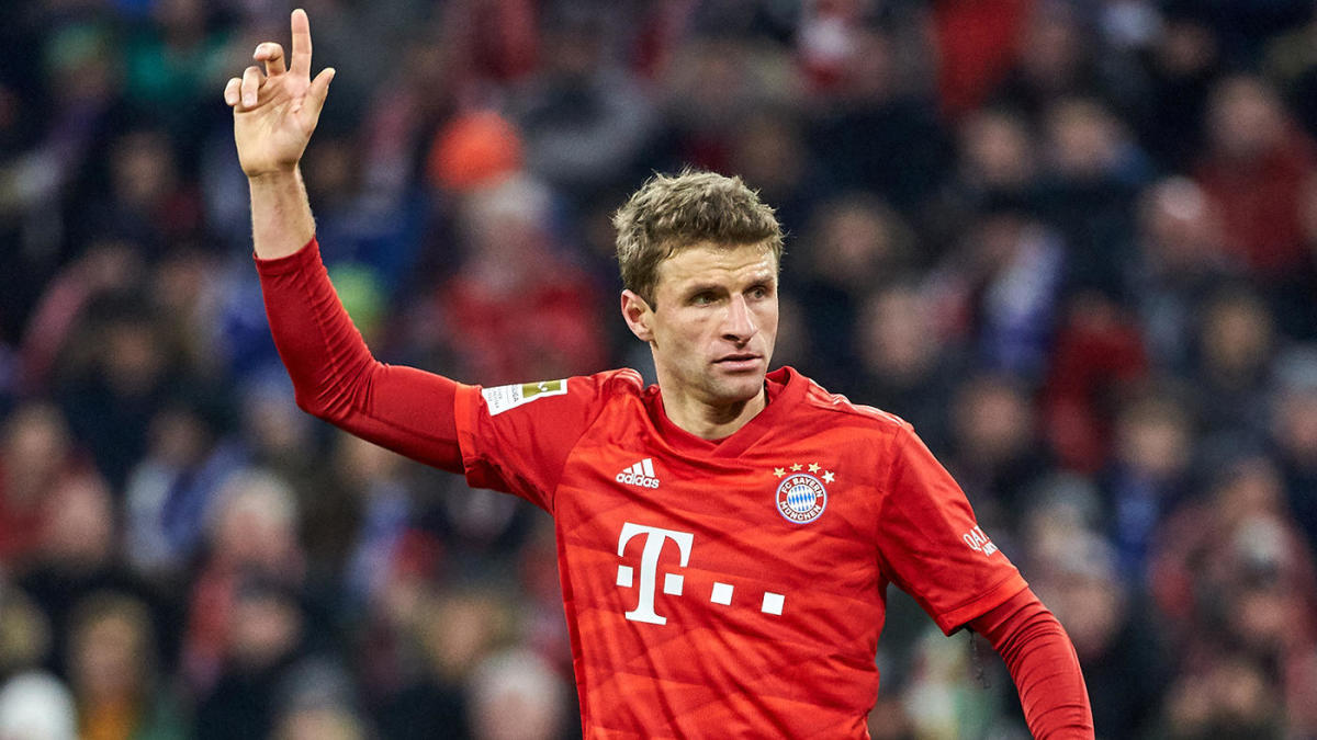 Bayern Munich vs. Eintracht Frankfurt score: Thomas Muller, Alphonso Davies keep Bundesliga leaders atop table