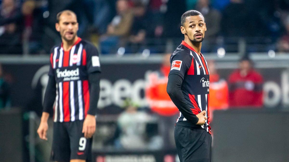Eintracht Frankfurt vs. Borussia Monchengladbach score: Alassane ...