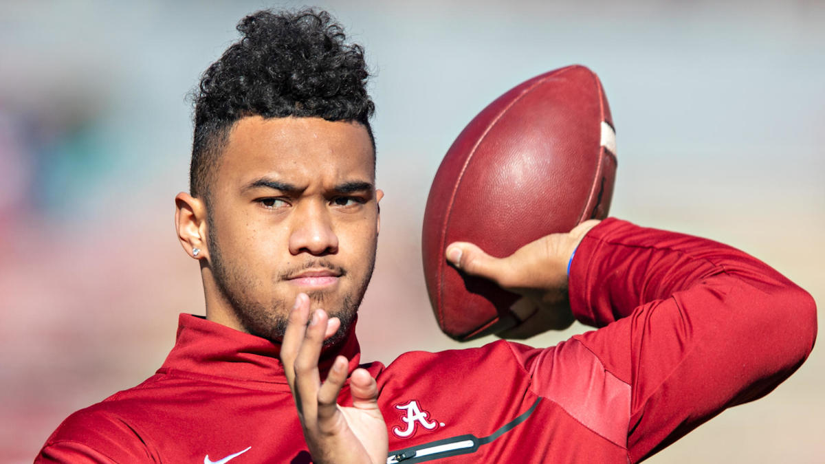 Dolphins' Tua Tagovailoa shows off increased foot speed in latest workout video, on track to play in 2020