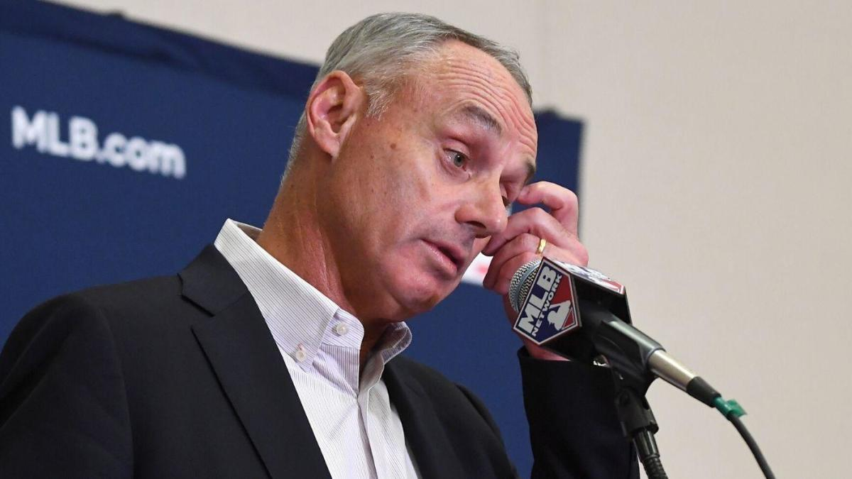 Rob Manfred 'not confident' there will be a 2020 MLB season, says ...