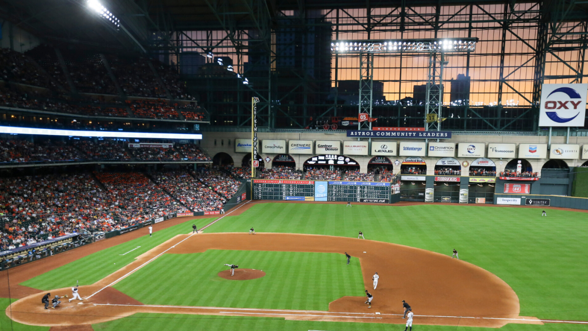 MLB could allow fans at Astros, Rangers games in 2020 due to ...