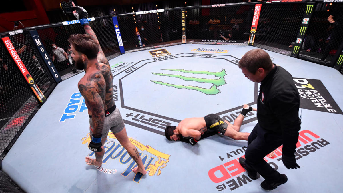 UFC 250 results, highlights: Cody Garbrandt brushes off losing skid with vicious knockout punch - CBSSports.com
