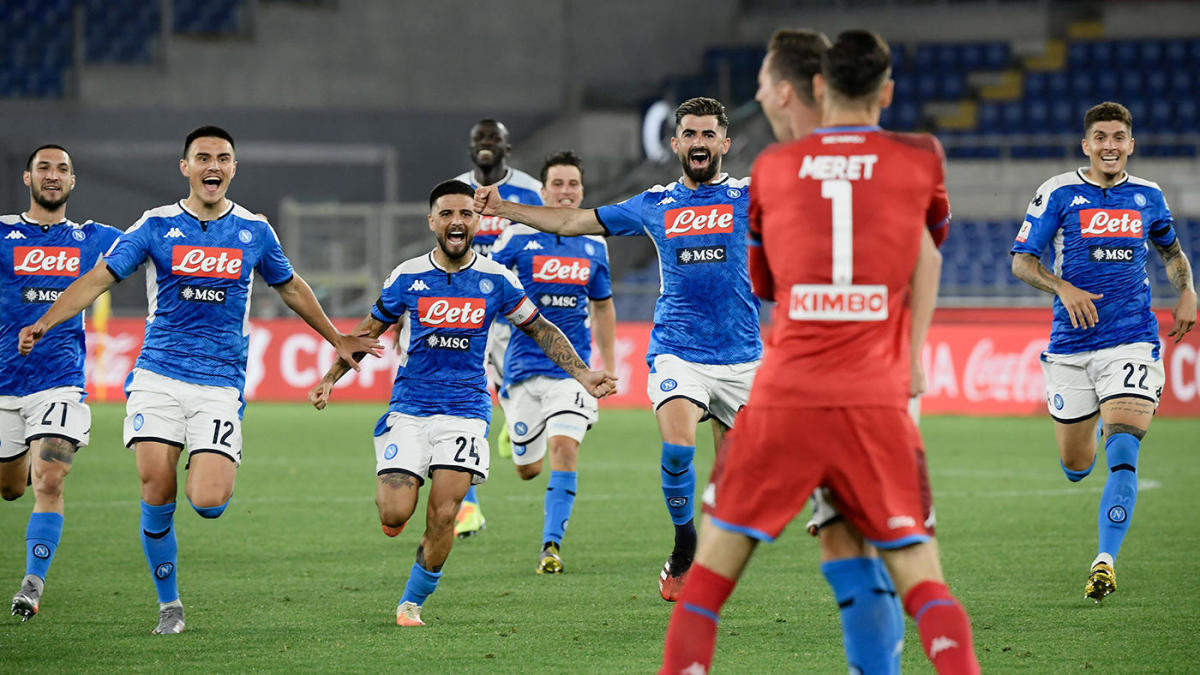 Napoli UEFA Champions League schedule: How team got here and what to know ahead of restart