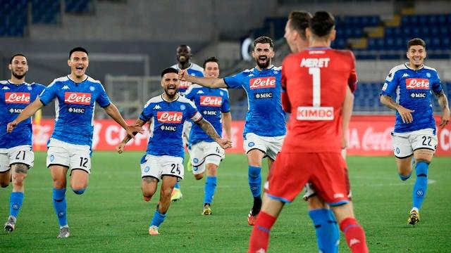 Napoli Beats Juventus On Penalties To Win Coppa Italia Final Ronaldo Buffon Denied Title Cbssports Com
