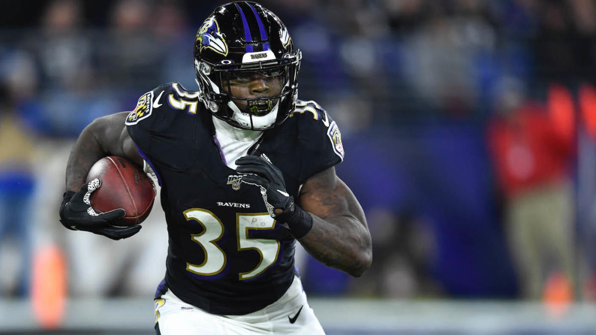 Ravens' Gus Edwards in line for massive role vs. Steelers in Week 12 with  J.K. Dobbins and Mark Ingram out - CBSSports.com