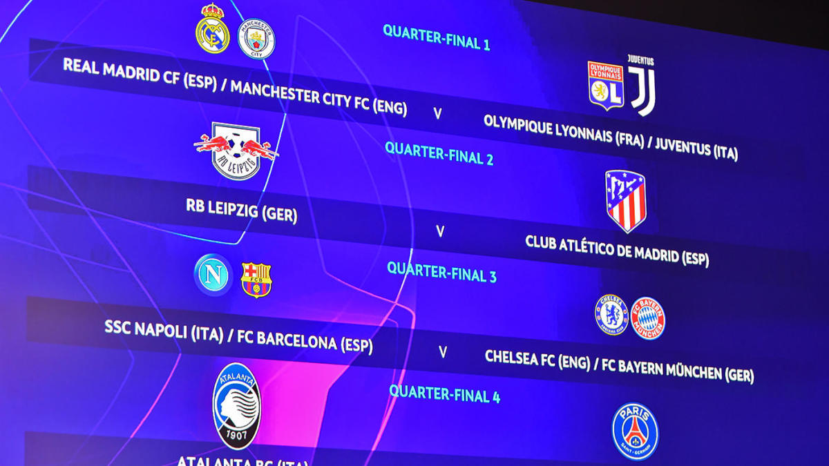 champions league draw europa league draw results bracket schedule real madrid man city face tough road cbssports com https www cbssports com soccer news champions league draw europa league draw results bracket schedule real madrid man city face tough road live