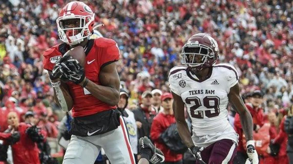 George Pickens making significant strides per Kirby Smart