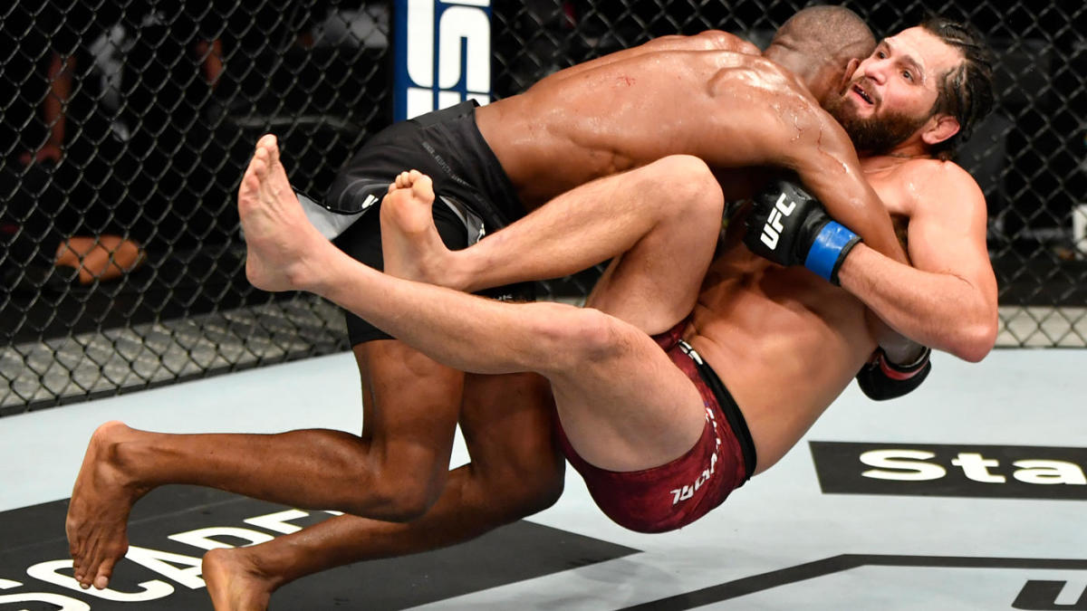 Ufc 251 Results Highlights Kamaru Usman Dominates Jorge Masvidal With Strong Wrestling To Retain Title Cbssports Com