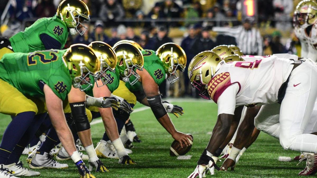 Notre Dame Vs Florida State 2021 Season Opener Moved To Sunday Sept 5 From Labor Day Night Cbssports Com