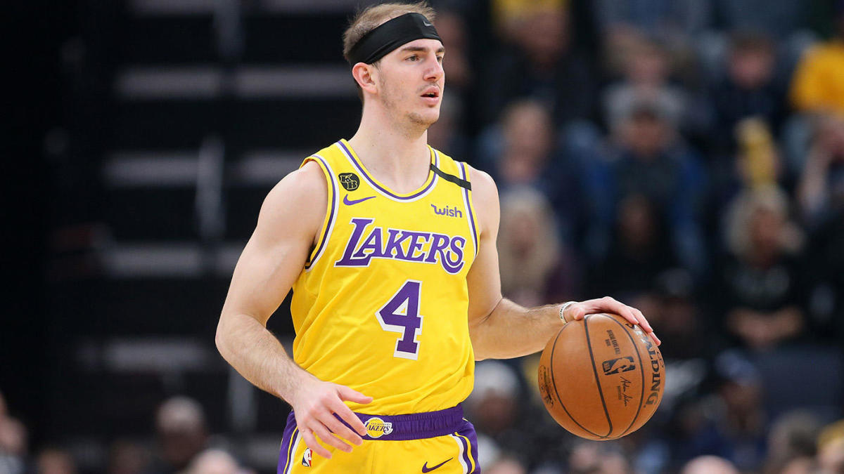 Fan honors Lakers' Alex Caruso by getting married in his jersey ...