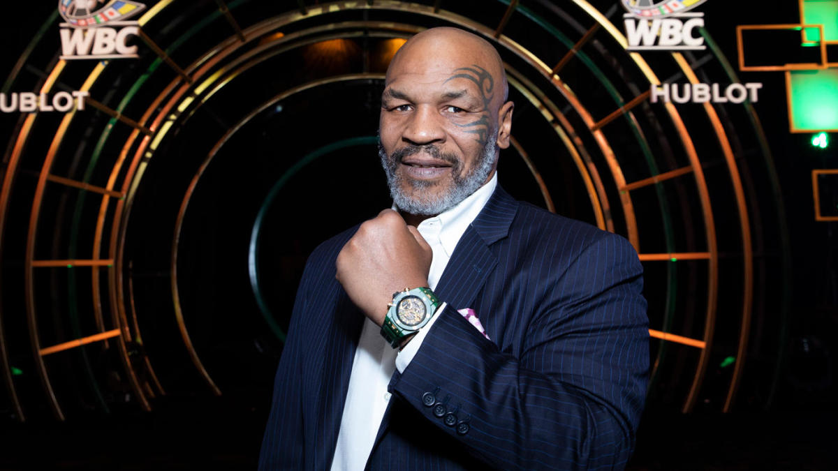 mike tyson to take on roy jones jr in exhibition boxing match this september cbssports com mike tyson to take on roy jones jr in exhibition boxing match this september cbssports com
