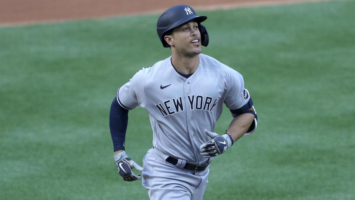 Yankees' Giancarlo Stanton slugs first home run of 2020 MLB season ...
