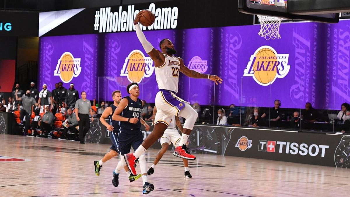 LeBron James goes gray, Laker girls go virtual, Boban Marjanovic goes wild on second day of NBA scrimmages