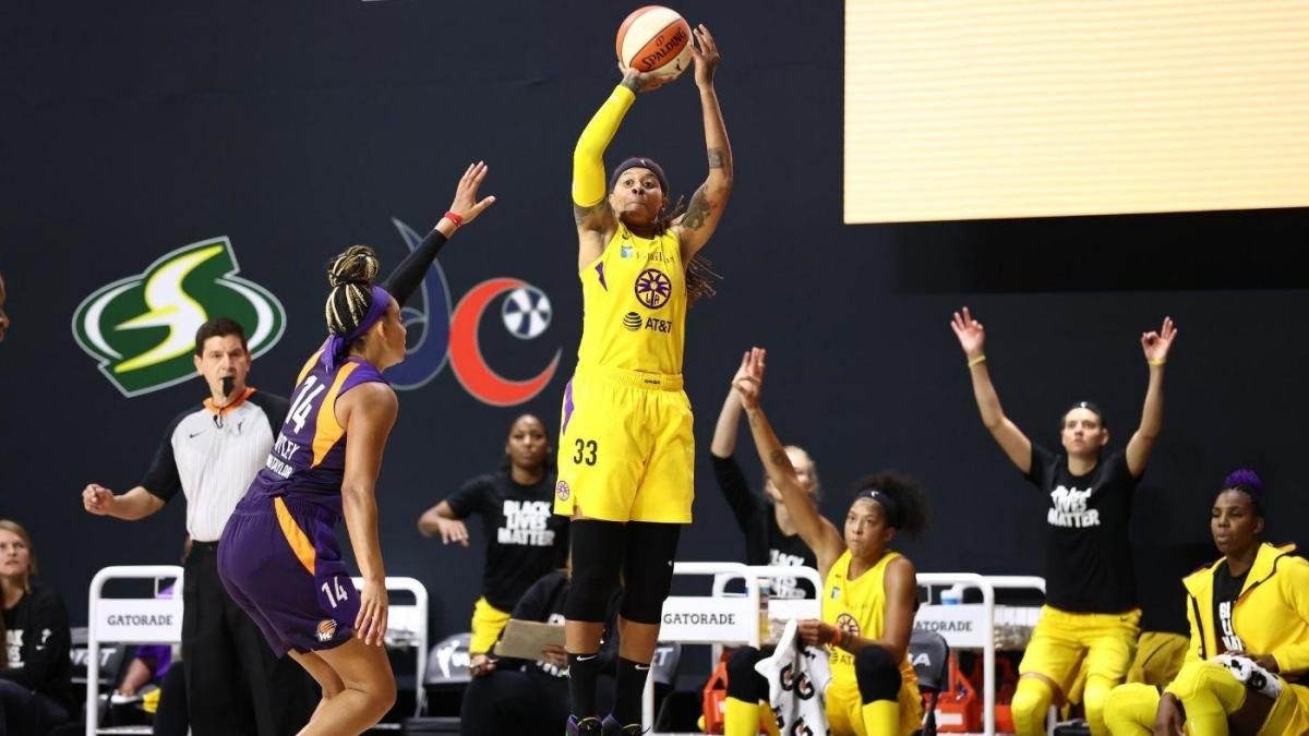 In 15th WNBA season, Seimone Augustus feels secure with Sparks, has nothing to prove and plenty in the tank