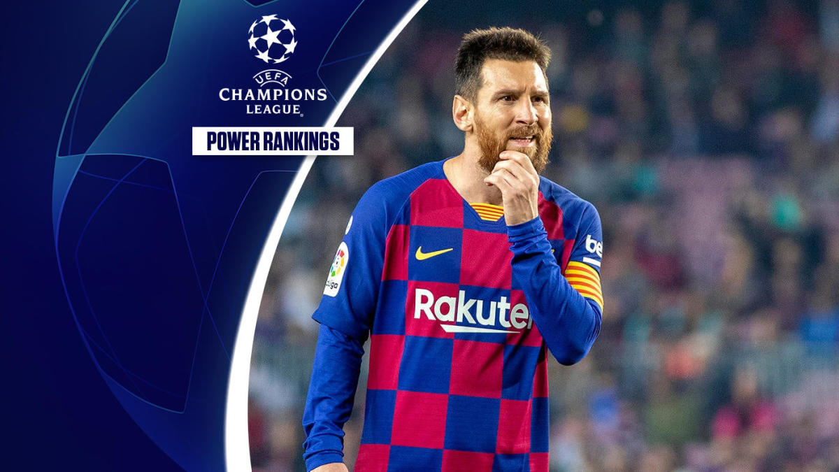 Uefa Champions League Power Rankings How Far Can Lionel Messi Carry Barcelona Cbssports Com
