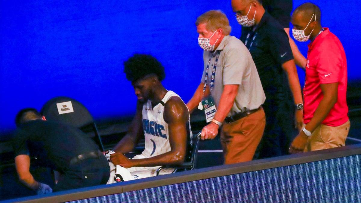 賽季報銷!魔術新星遭遇十字韌帶撕裂,美國球迷:也許他現在可以跪下來了!(影)-黑特籃球-NBA新聞影音圖片分享社區