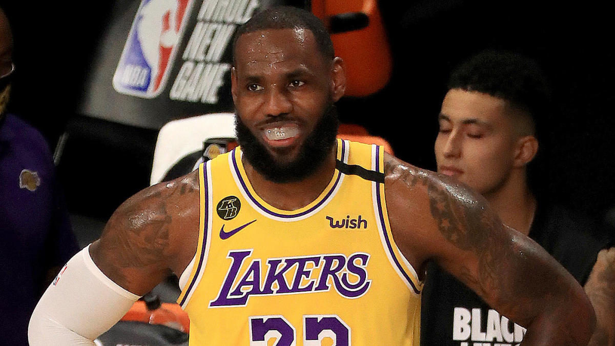 LeBron James conjuring fake critics after Lakers clinch No. 1 seed is the height of imaginary motivation