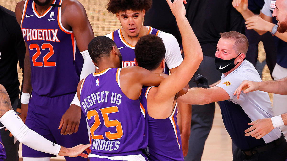 Devin Booker Luka Doncic Lakers Blazers Among Early Winners In Nba Bubble Grizzlies Taking A Beating Cbssports Com