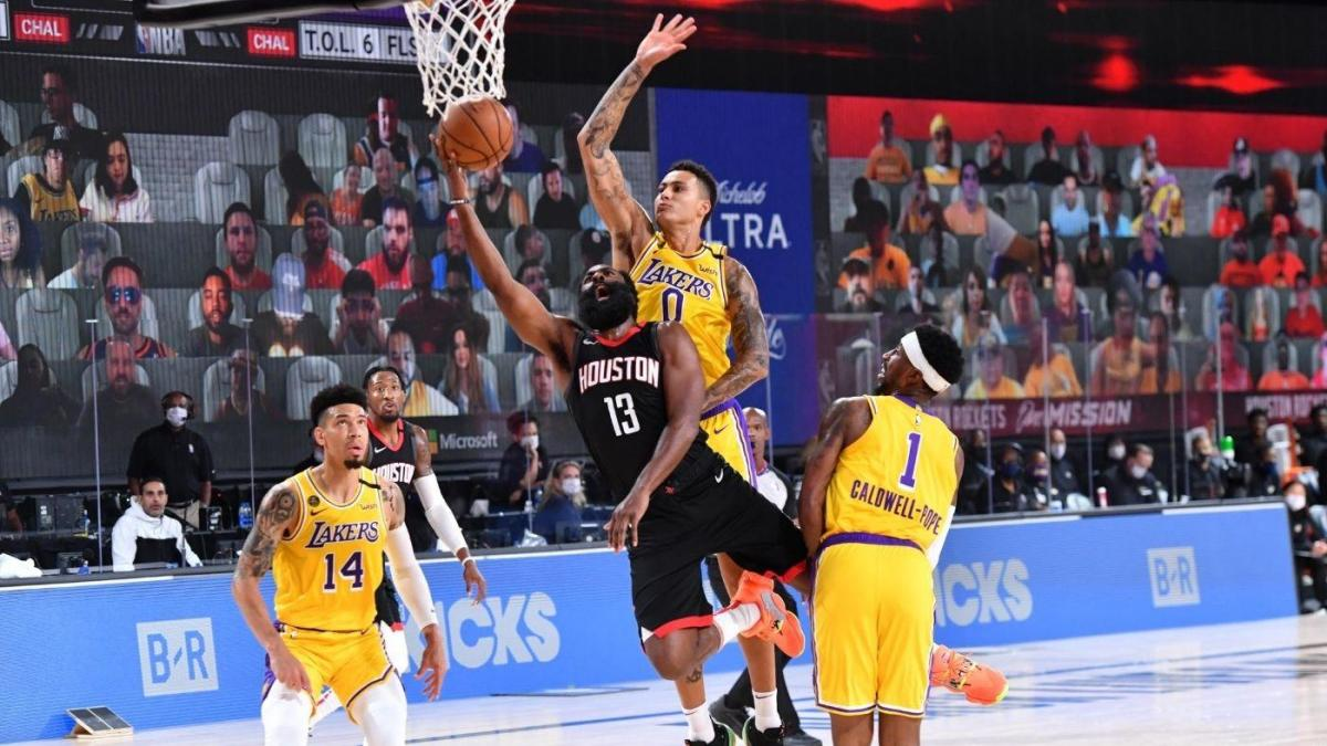 Lakers vs. Rockets score, takeaways: Houston takes care of business against L.A. with LeBron James sidelined - CBSSports.com | CBSSports.com