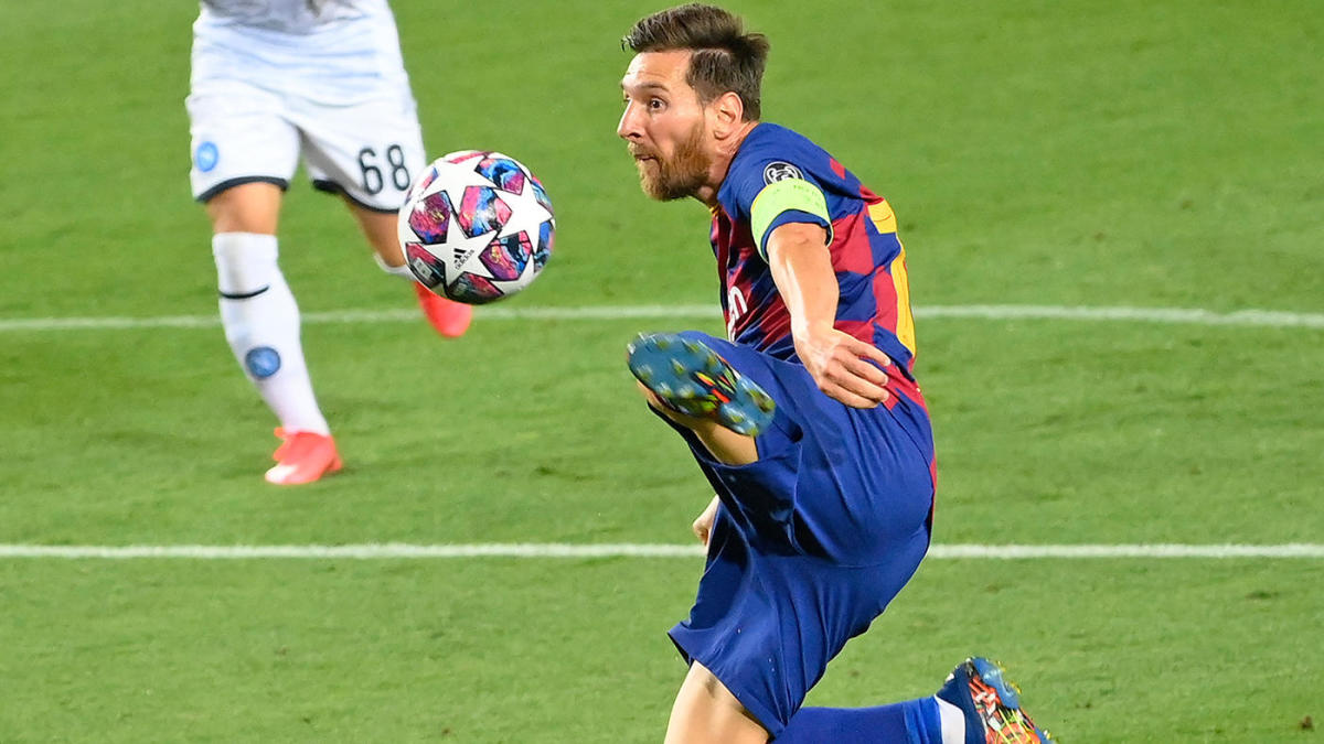 Champions League Scores Highlights Takeaways Messi Magic For Barcelona Bayern Munich Lewandowski Roll Cbssports Com
