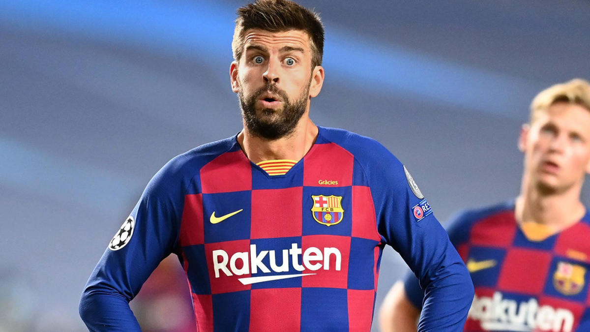 Gerard Pique on Barcelona's 8-2 horror loss vs. Bayern Munich: 'The club  needs changes' - CBSSports.com