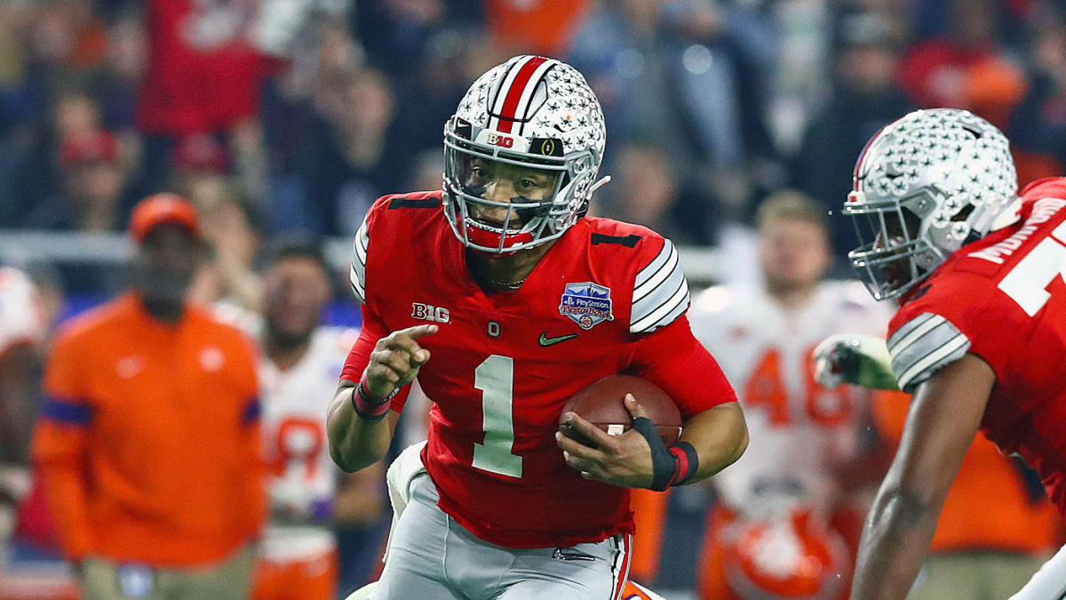 Big Ten football 2020: Justin Fields, Jim Harbaugh and others react to  upcoming football season - CBSSports.com