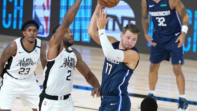 Leonard-Doncic y Clippers-Mavericks