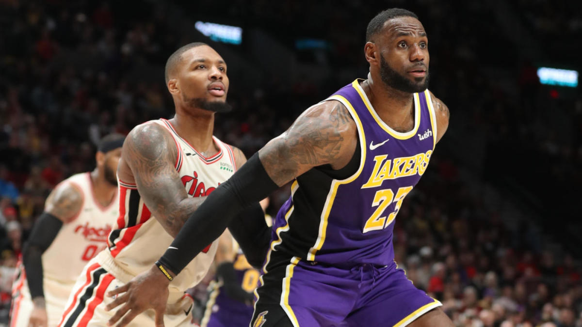 Trail Blazers Vs Lakers Game 1 Watch Nba Playoffs Online Live Stream Tv Channel Odds Prediction Cbssports Com