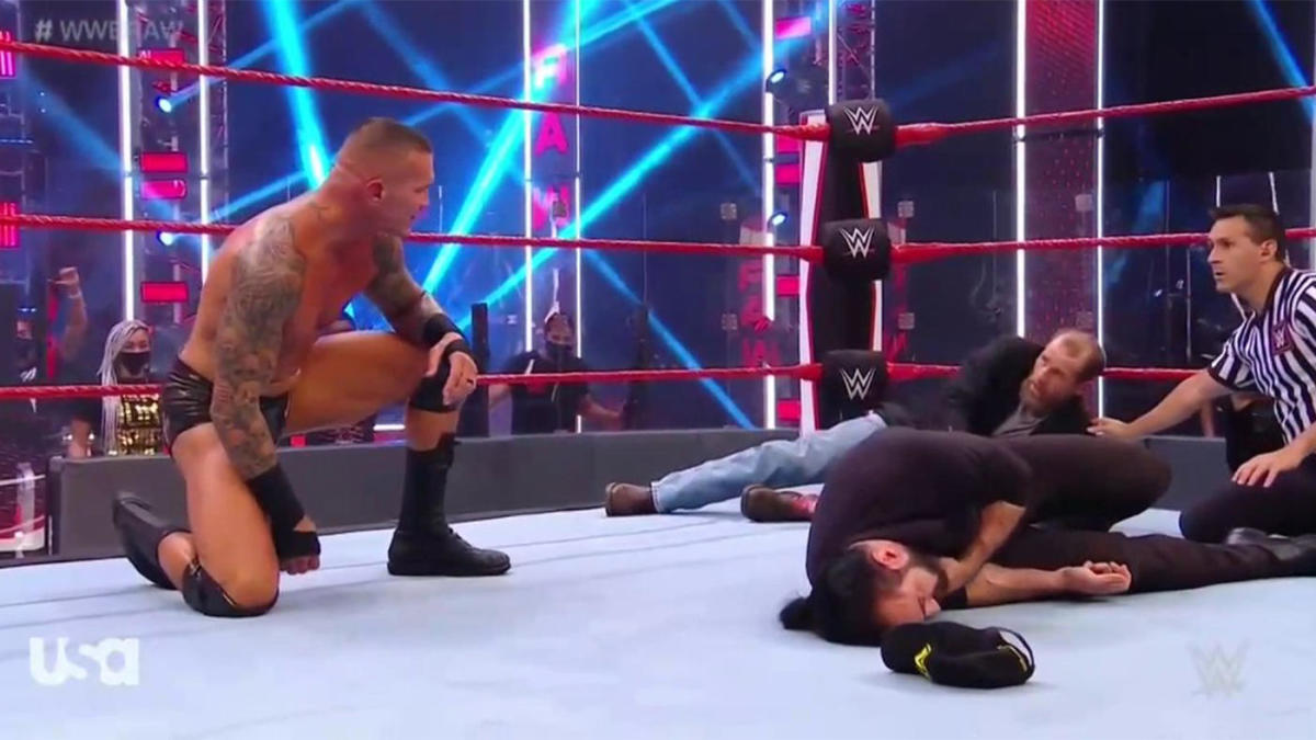 WWE Raw results, recap, grades: Shawn Michaels gets destroyed by Randy Orton on SummerSlam go-home show thumbnail