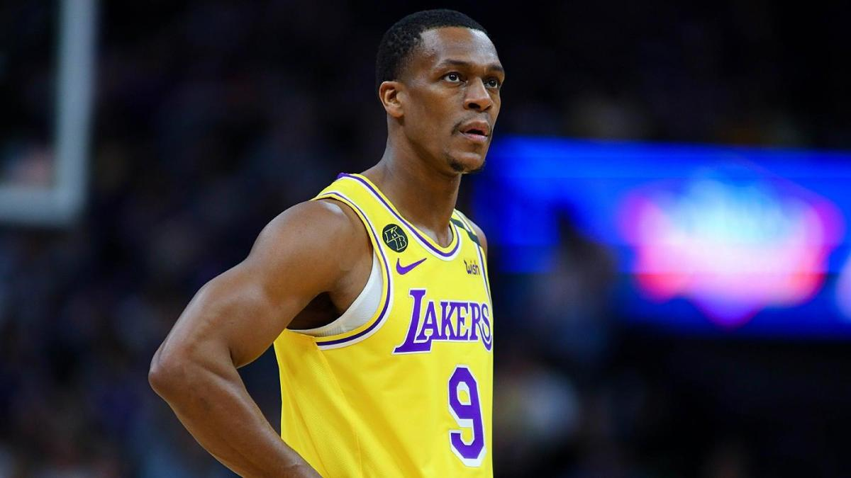 Lakers Rajon Rondo Ruled Out For Game Despite Initially Being Activated Per Report CBSSports com