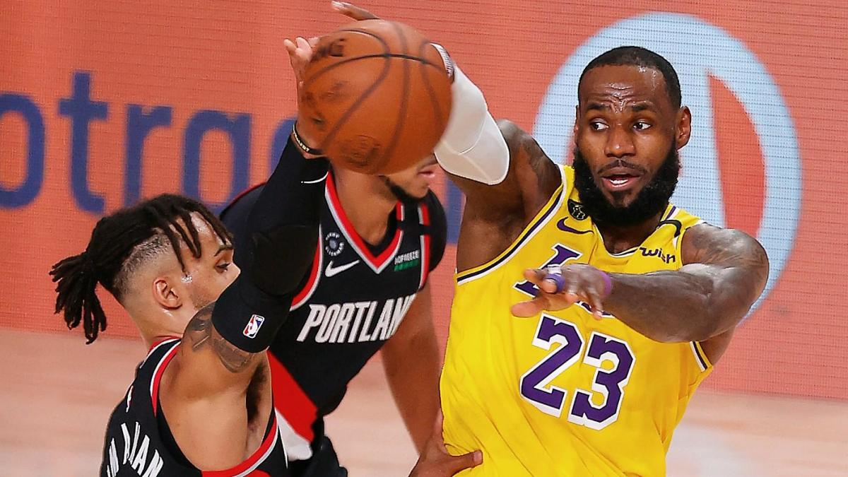 Lakers Vs Trail Blazers Game 2 Watch Nba Playoffs Online Live Stream Tv Channel Odds Prediction Cbssports Com