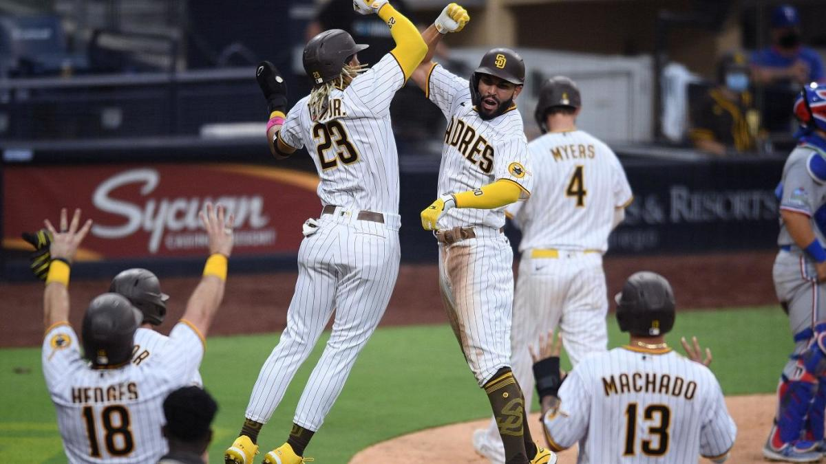 San Diego Padres make history as the first team in MLB history to hit a grand slam in four straight games