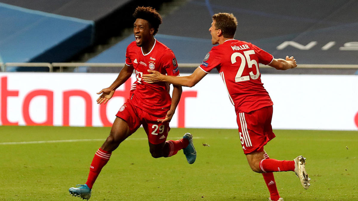 How Kingsley Coman went from PSG reject to Bayern Munich's ...