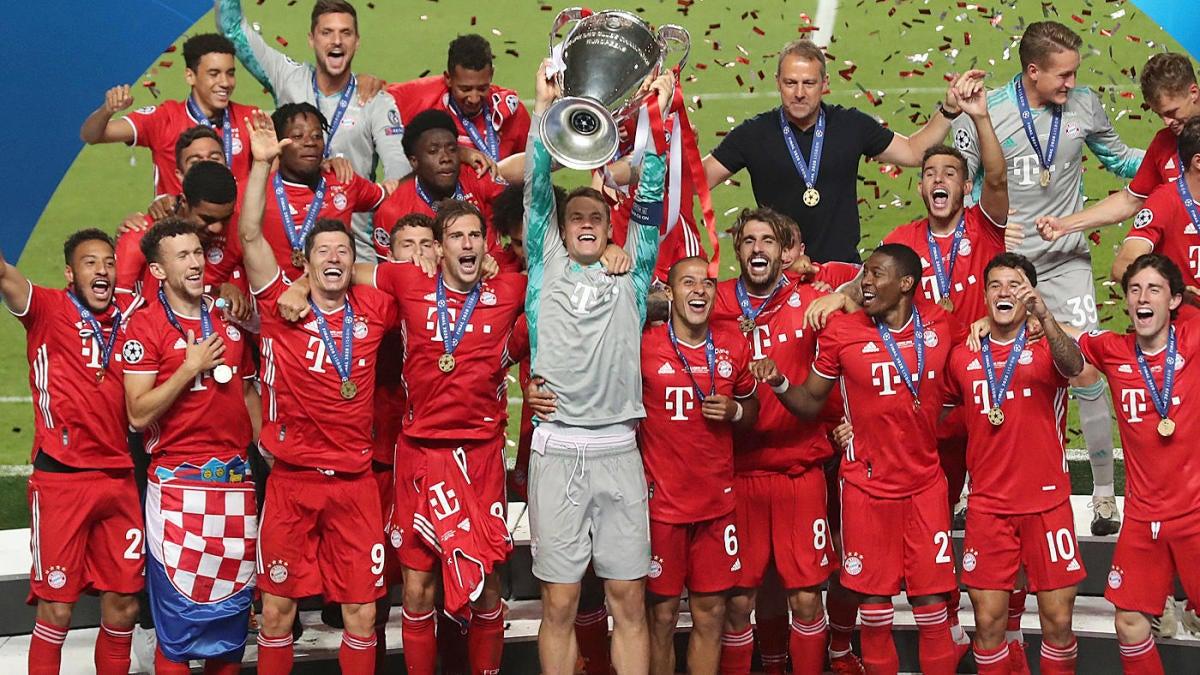 Bayern Munich Vs PSG Score Kingsley Coman Goal Caps