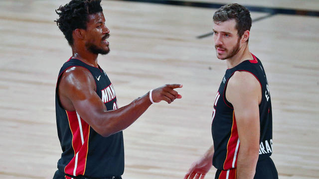 Jimmy Butler Says Heat Didn T Deserve To Win Game 4 After Failing To Capitalize On Antetokounmpo Injury Cbssports Com