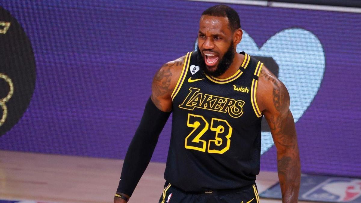 Lakers Open Game 4 Vs Blazers With 24 8 Run While Wearing Black Mamba Uniforms On Kobe Bryant Day Cbssports Com