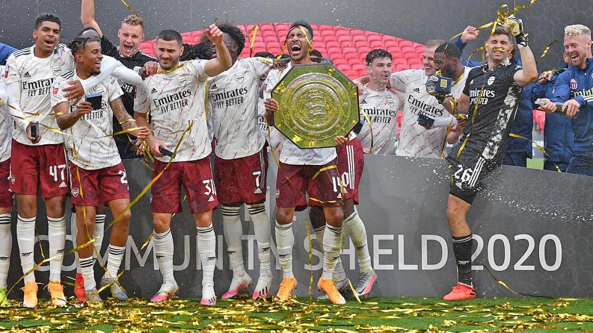 Arsenal Vs Liverpool Score Aubameyang The Hero As Gunners Win Community Shield In Penalty Kicks Cbssports Com