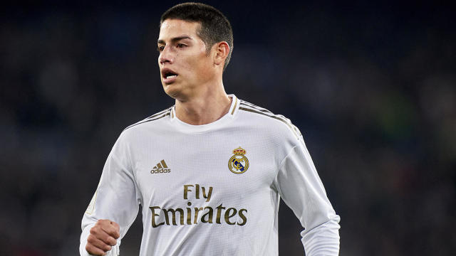 Everton In Talks To Bring On James Rodriguez Via Transfer From Real Madrid Cbssports Com