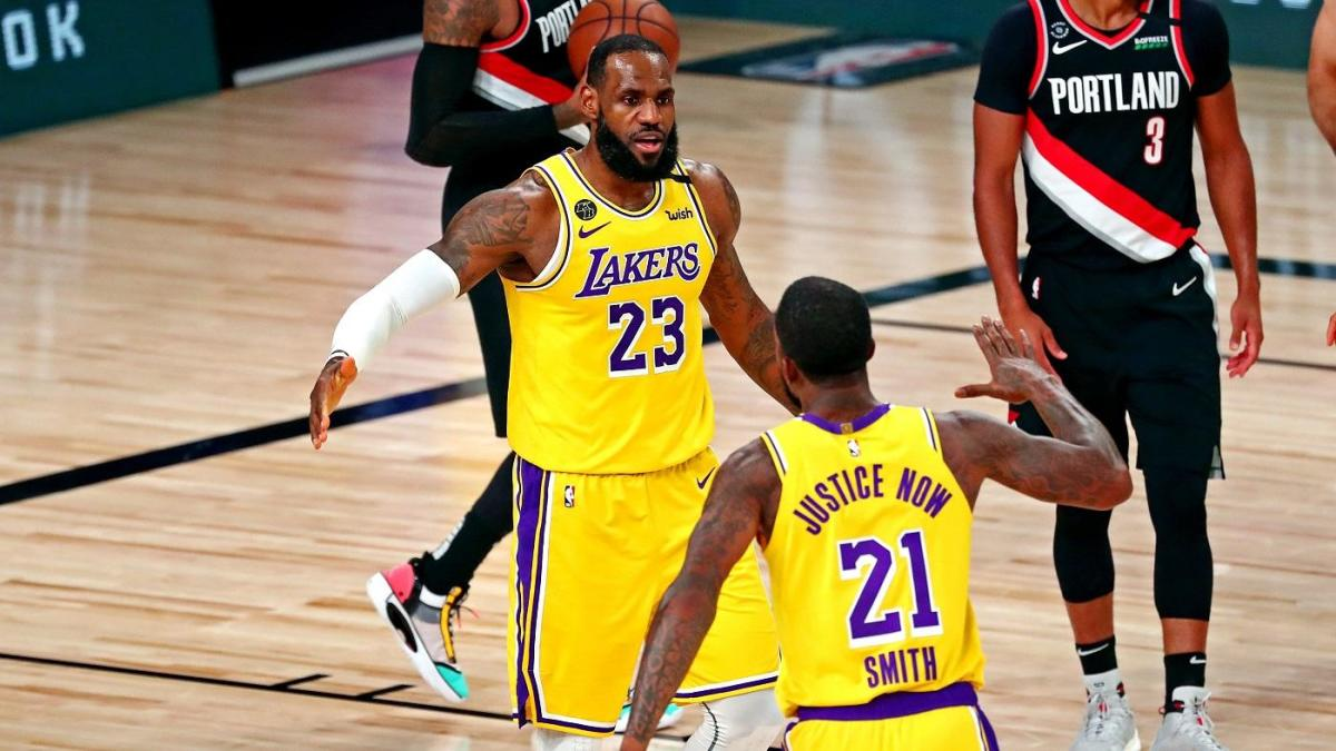 Lakers vs. Trail Blazers score takeaways: LeBron Anthony Davis have huge nights in closeout Game 5 win – CBSSports.com