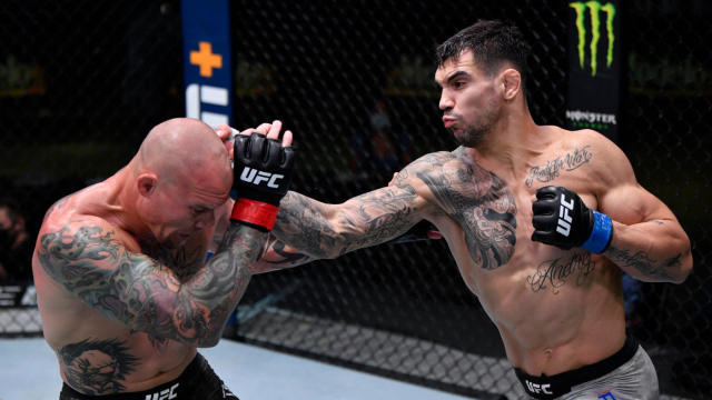 Ufc Fight Night Results Highlights Aleksandar Rakic Grinds Down Anthony Smith For Clear Decision Win Cbssports Com